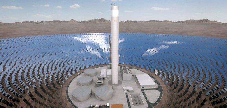 energía solar Chile csp termosolar abengoa
