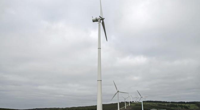 Eólica en Galicia: La Xunta autoriza el parque eólico de Boutareira