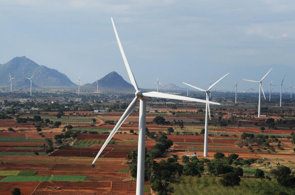 Eólica en India: Gamesa suministra 23 aerogeneradores a tres parques eólicos.
