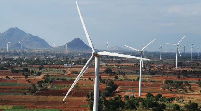 Enel Green Power se adjudicó 190 MW de energía eólica en licitación en India