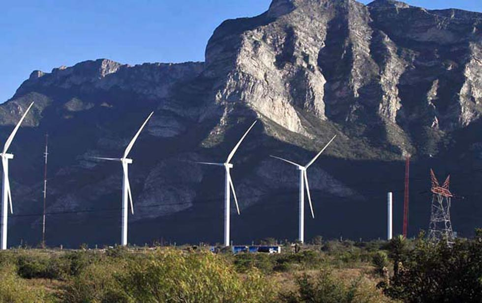 México eólica wind power