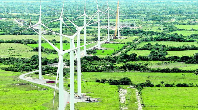 Eólica en Panamá: El mayor parque eólico de Centroamérica, con  86 aerogeneradores, se inaugura en abril