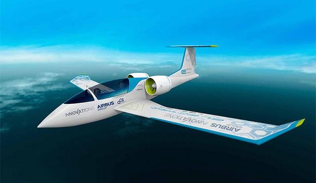 E-Fan, avión eléctrico comercial de Airbus