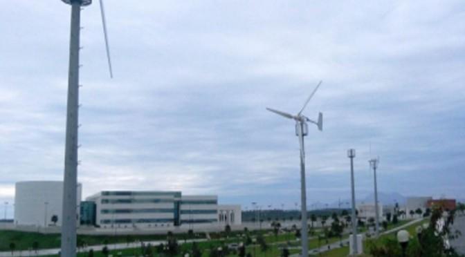 Industria Las pequeñas y medianas turbinas de viento 2019