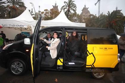 Vehículo eléctrico: Taxis eléctricos en Montevideo