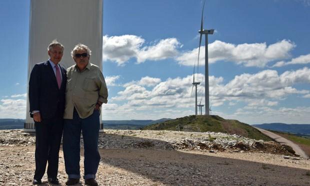 Uruguay está tercero en el mundo en generación de energía eólica