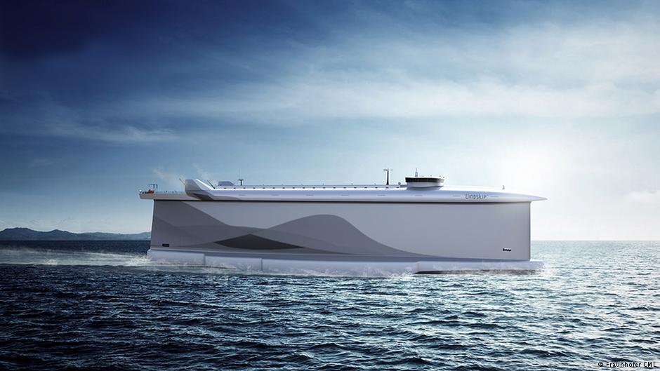buque mercante de energía eólica
