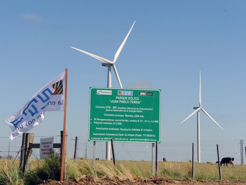 uruguay eólica wind energy parque eólico