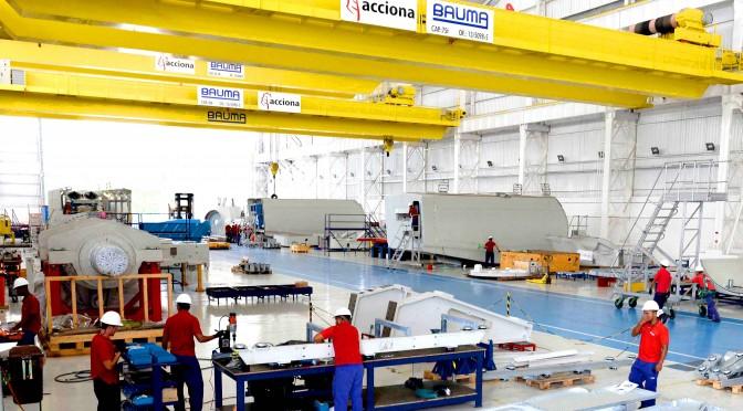 Eólica en Brasil: aerogeneradores de Acciona Windpower para proyectos eólicos en Piauí