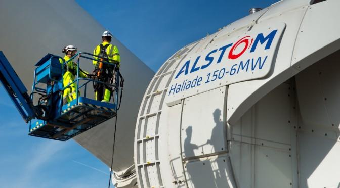 Eólica marina en Alemania: Alstom instalará 66 aerogeneradores Haliade 150-6MW