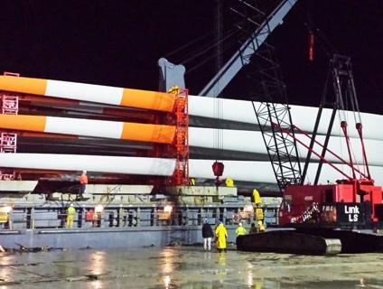 Eólica en México: llegan aerogeneradores al puerto de Altamira
