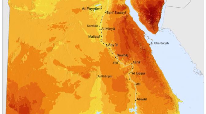 Egipto planea establecer centrales de energía termosolar