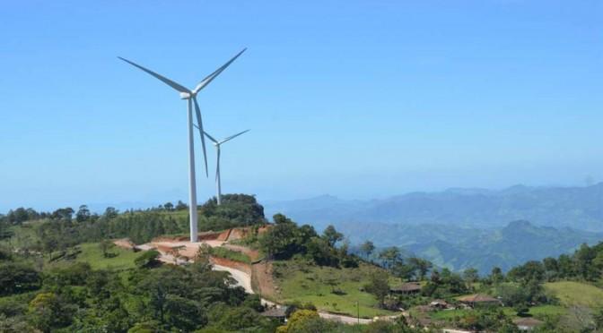 Instalados 175 megavatios de energía eólica en Honduras