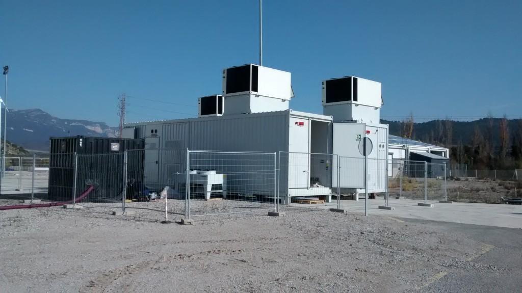 Primer ensayo almacenamiento de Energía-CENER+ABENGOA