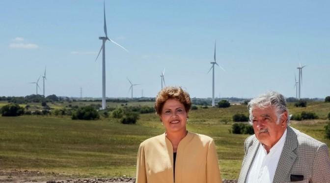 Eólica y energías renovables en Brasil: presidenta Dilma Rousseff conecta el mayor complejo eólico de Latinoamérica.