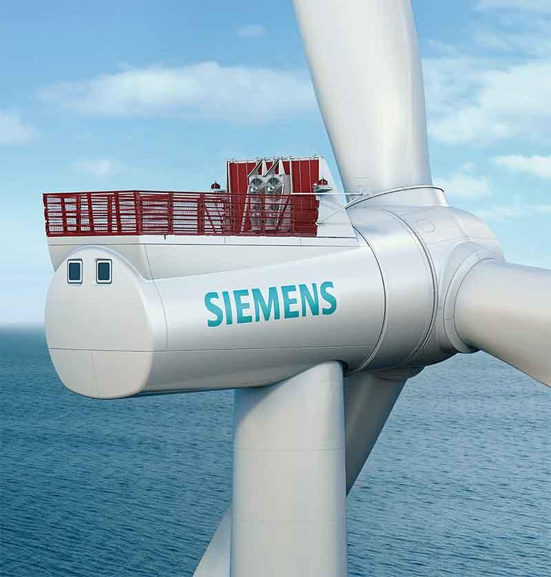 Siemens lidera la eólica marina