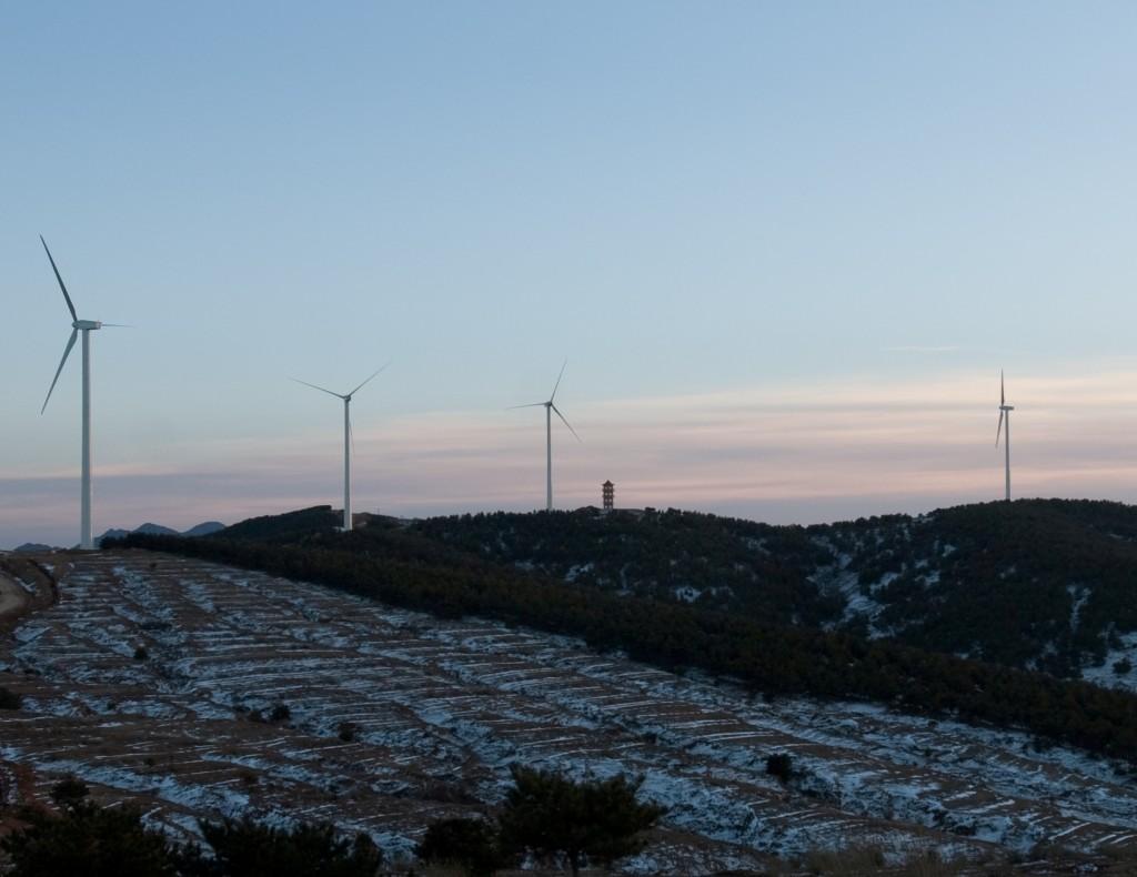 Eólica en China: Gamesa suministra aerogeneradores a proyectos eólicos.