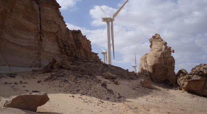Primer proyecto de energía eólica en Dubai