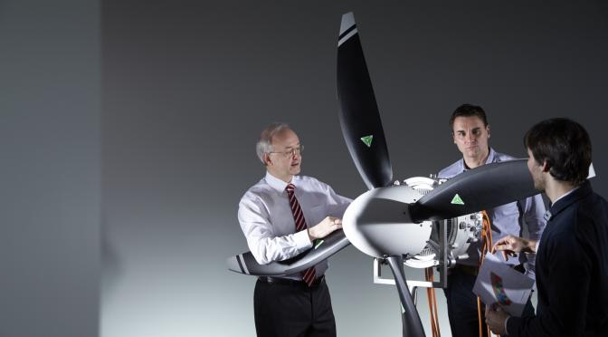 Motor eléctrico para aviones de Siemens cinco veces más potente