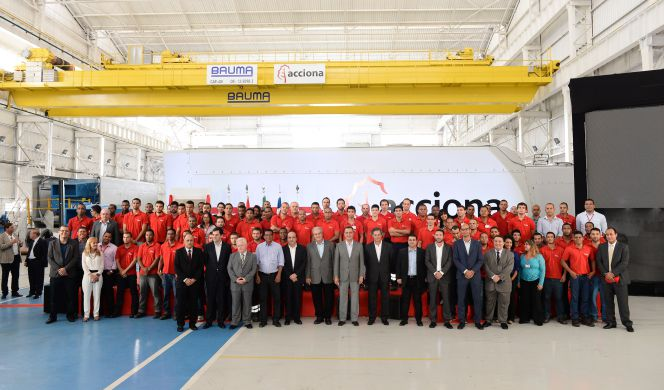 Eólica y energías renovables Acciona fabrica aerogeneradores en Brasil