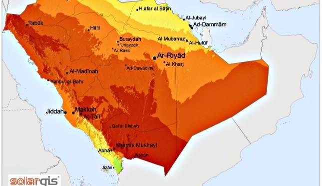 Arabia Saudí tendrá 2.7 GW de energía termosolar en 2030