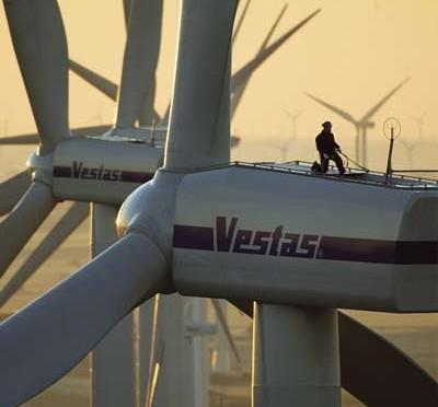 Energía eólica en Ucrania: aerogeneradores Vestas para un parque eólico