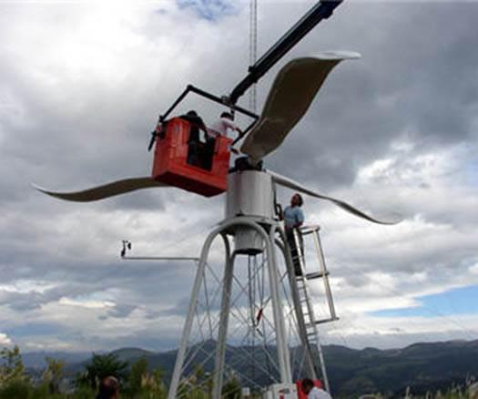 Cinvestav desarrolla un aerogenerador de energía eólica para zonas rurales