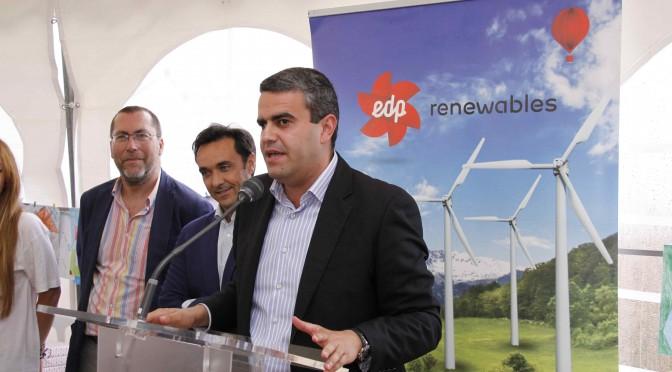 EDP ganó 405 millones hasta junio gracias a la energía eólica y la solar