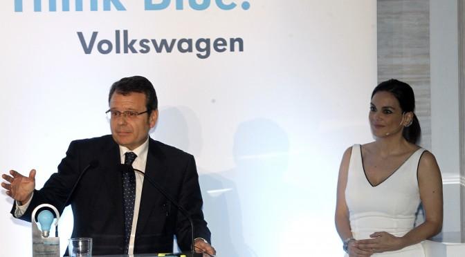 Eólica Sotavento recibe el premio Think Blue de Volkswagen