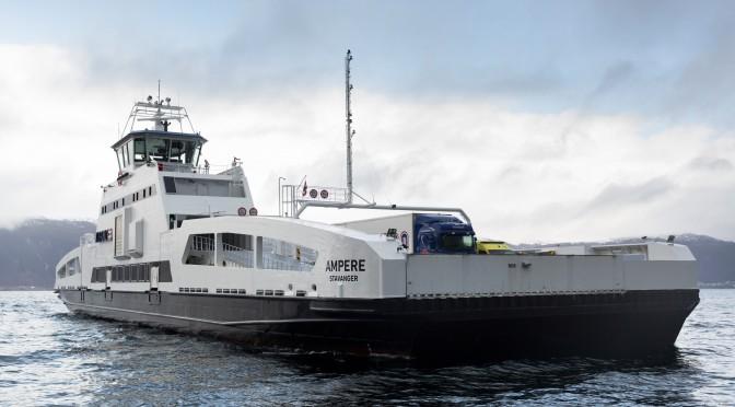 Noruega inaugura el primer ferry eléctrico