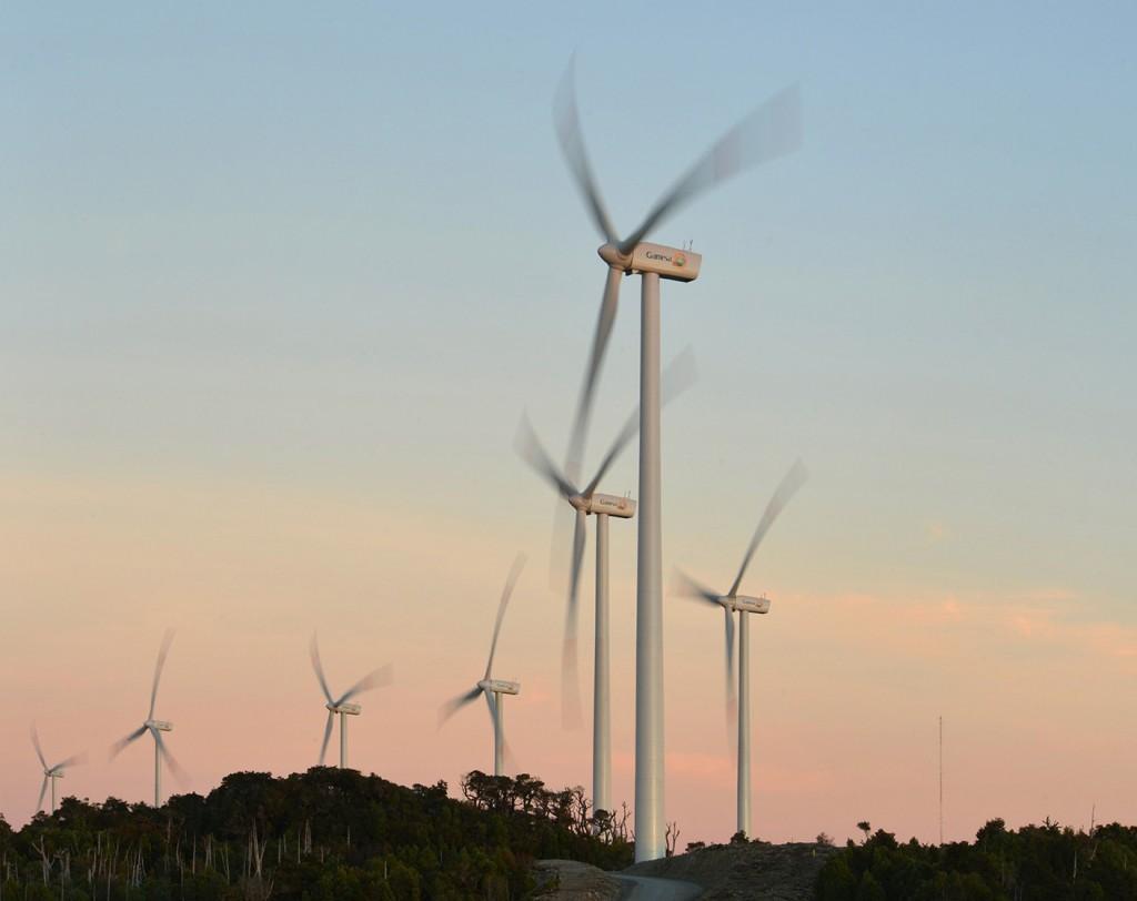 Gamesa wind farm in Chile