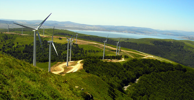 Iberdrola incrementa un 19,5% la producción de energía eólica en Castilla y León en mayo