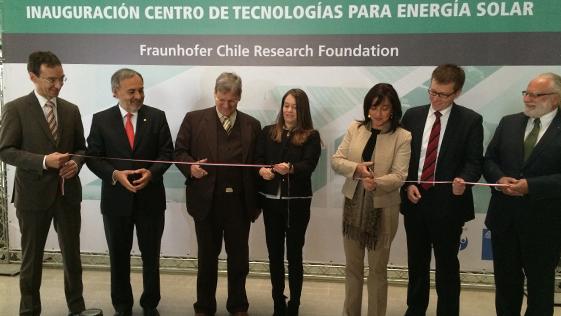 Fraunhofer abre en Chile Centro de Tecnologías para Energía Solar Fotovoltaica y Termosolar