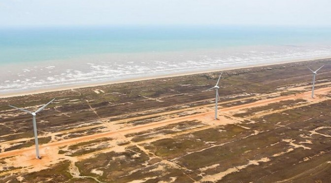 Eólica en La Guajira: Parque eólico llegará a 2.000 megavatios