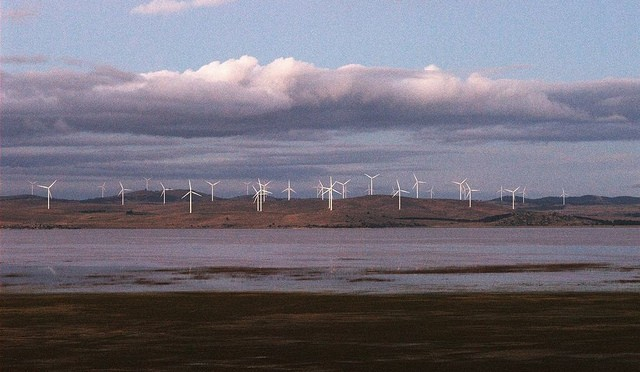 Eólica en Australia: parque eólico con aerogeneradores de General Electric