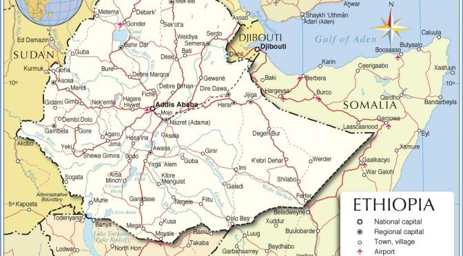 Etiopía desarrrolla las energías renovables, eólica y geotérmica.