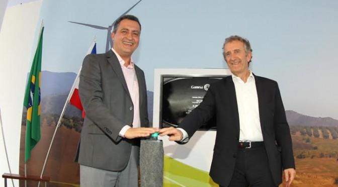 Eólica y energías renovables en Brasil: Gamesa produce aerogeneradores en Bahía.