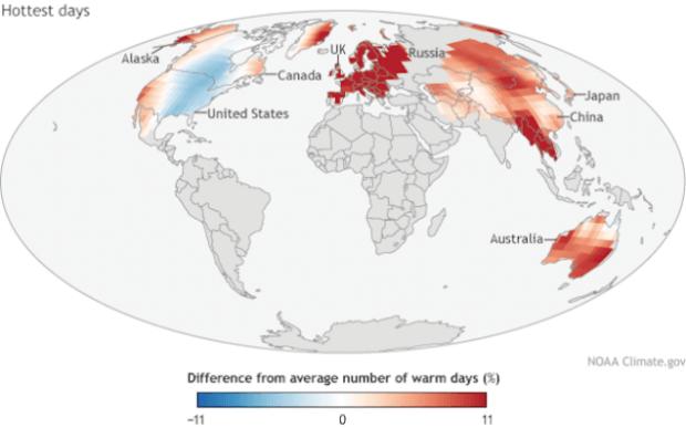 2014 fue el año más caluroso de la historia