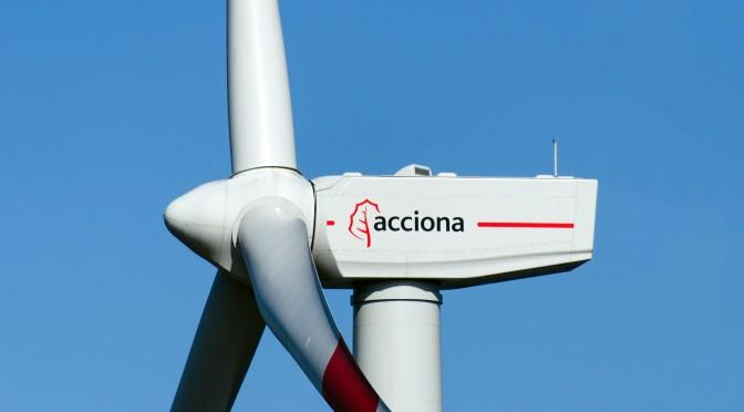 Acciona impulsa energías renovables para frenar cambio climático
