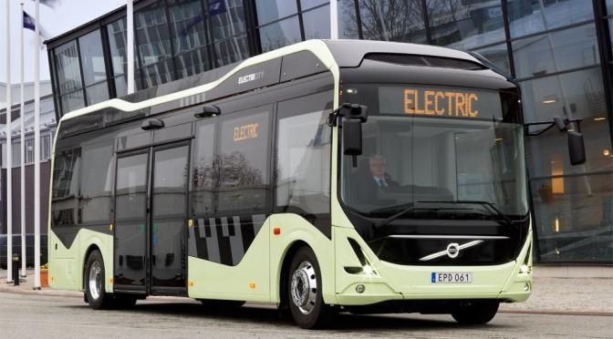 Vehículo eléctrico: Primer autobús eléctrico de Volvo