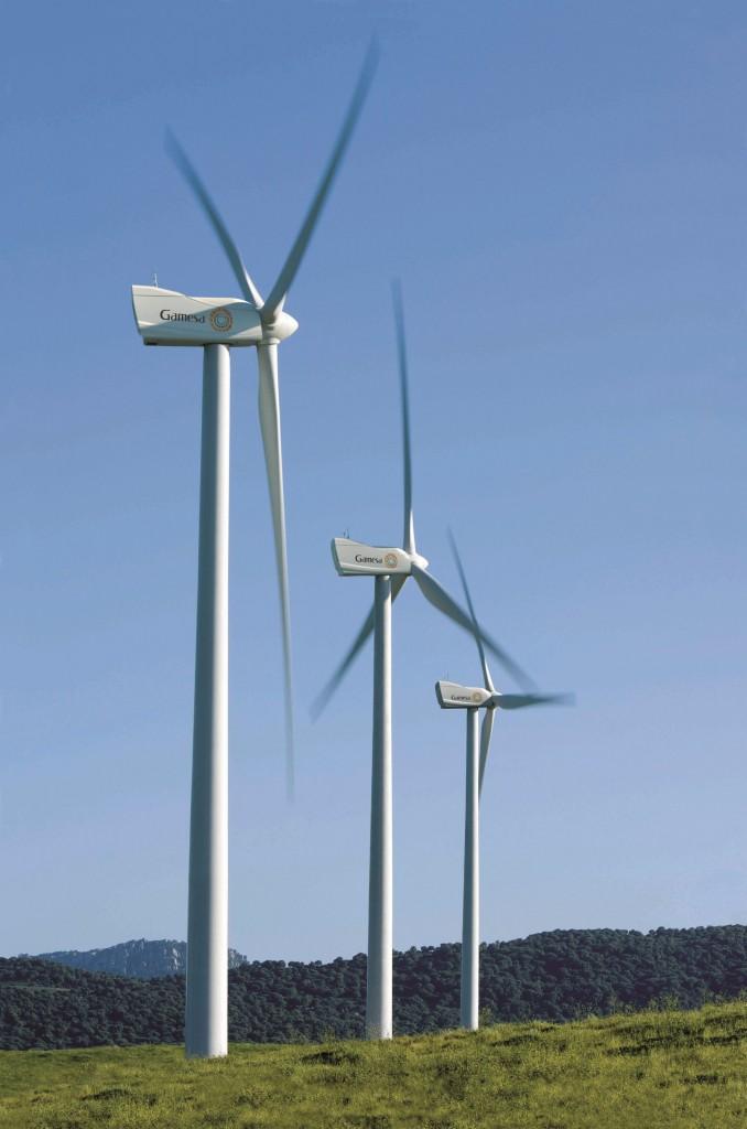 Gamesa instalará nueve aerogeneradores para repotenciar un parque eólico