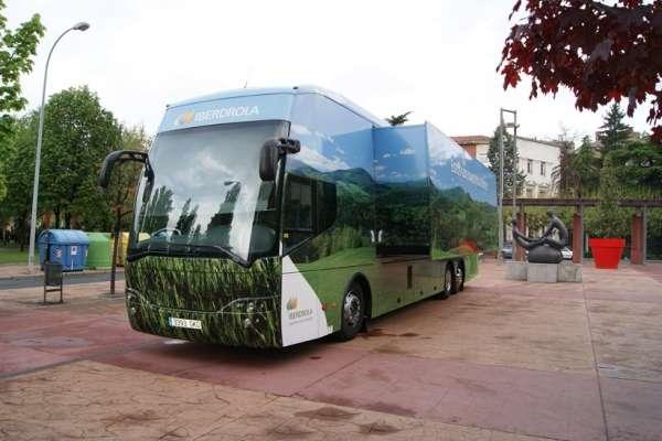 iberdrola autobus renovables