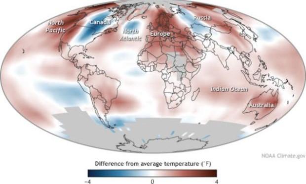 La inacción ante el cambio climático supondrá un futuro negro