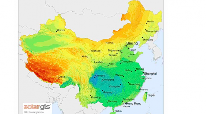La termosolar gana terreno rápidamente en China