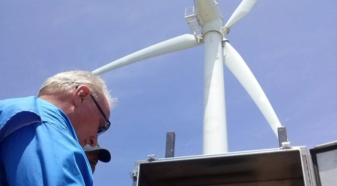 Arranca proyecto energía eólica en isla de Roatán