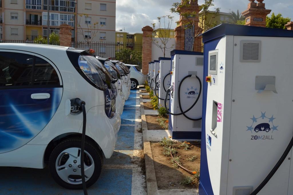 209 vehículos eléctricos adheridos al proyecto Zem2All han realizado un total de 95.295 recargas
