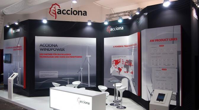 Eólica en Alemania: Acciona entra en el mercado de aerogeneradores