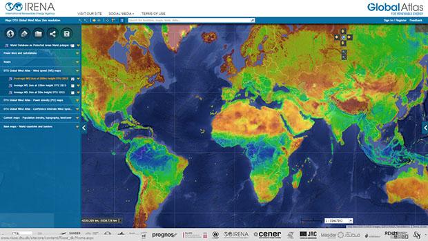 IRENA y la DTU publican los datos de eólica en el mundo