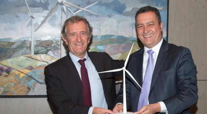 Eólica en Brasil: Gamesa y el Gobierno de Bahía impulsarán la innovación en energías renovables