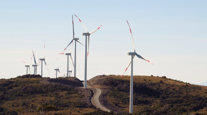 Ministros Jiménez y Valente inauguran primer  parque eólico de Pacific Hydro y SPIC en Chile